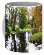 Meandering Creek In Autumn Coffee Mug