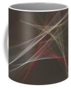 Mechanic Computer Graphic Line Pattern Coffee Mug