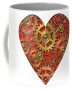 Mechanical Heart Coffee Mug by Michal Boubin