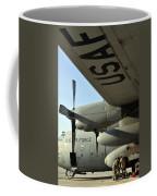 Mechanics Change An Auxiliary Power Coffee Mug by Stocktrek Images