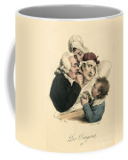 Medical Practitioner Administers Coffee Mug