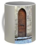 Medieval Florence Door Coffee Mug