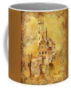 Medieval Golden Castle Coffee Mug