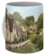 Medieval Houses In Arlington Row In Cotswolds Countryside Landsc Coffee Mug