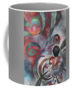 Meditating Life Universe And Beyond Coffee Mug