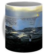 Meditating On A Rainbow Coffee Mug