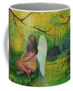 Meditation In Eden Coffee Mug