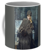 Meditation,  William Merritt Chase American, 1849-1916 1886 Coffee Mug