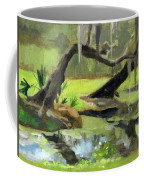 Meditative Swamp Coffee Mug