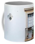 Mediterranean Balcony Coffee Mug
