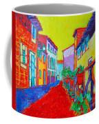 Mediterranean Cityscape Coffee Mug