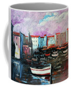 Mediterranean Port Coffee Mug