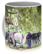 Meet Me Under The Trees Coffee Mug