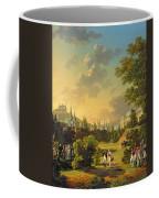 Meeting Between Napoleon I And Ferdinand IIi Coffee Mug by Hippolyte Lecomte