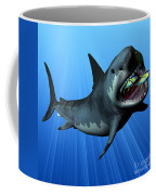 Megalodon Coffee Mug by Corey Ford