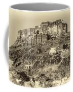 Mehrangarh Fort Sepia Coffee Mug