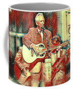 Mel Tillis Famous Country Music Entertainer  Coffee Mug