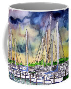 Melbourne Florida Marina Coffee Mug