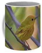 Mellow Yellow - American Warbler - Setophaga Petechia Coffee Mug