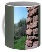 Melting Brick Wall Coffee Mug