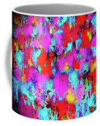 Melting Flowers Abstract  Coffee Mug