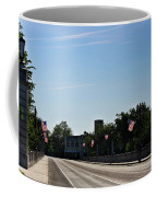Memorial Avenue Bridge Roanoke Virginia Coffee Mug by Teresa Mucha