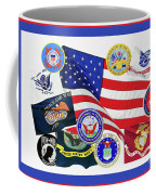 Memorial Day Collage Coffee Mug