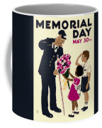 Memorial Day Poster Wpa Coffee Mug