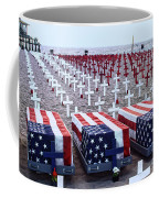 Memorial Day Remembrance At The Beach Coffee Mug