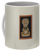 Memorial-pennsylvania Fractur And Cut-out Commemorating Jacob Bauer Coffee Mug