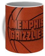 Memphis Grizzlies Leather Art Coffee Mug