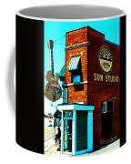 Memphis Sun Studio Birthplace Of Rock And Roll 20160215sketch Coffee Mug