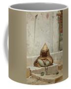 Mendicant In Meditation Coffee Mug
