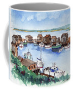 Menemsha Safe Haven Coffee Mug by John Crowther