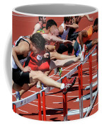 Mens Hurdles 2 Coffee Mug