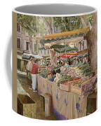 Mercato Provenzale Coffee Mug by Guido Borelli