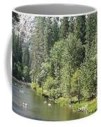 Merced River In Yosemite Coffee Mug