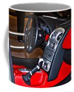 Mercedes Slr Concept Car Interior Coffee Mug