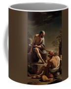 Mercury Lulling Argus To Sleep By Ubaldo Gandolfi Coffee Mug