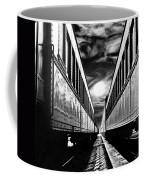 Merging Trains Coffee Mug