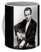 Merle Haggard, Music Legend By John Springfield Coffee Mug