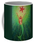 Mermaid Art- Mermaid's Starlight Coffee Mug