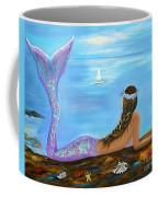 Mermaid Beauty On The Beach Coffee Mug