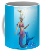 Mermaid In Aqua Coffee Mug