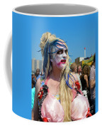 Mermaid Parade Man In Coney Island Coffee Mug