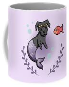Mermaid Pit Bull 2 Coffee Mug