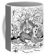 Mermaid Queen Coffee Mug