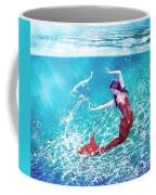 Mermaid Red Coffee Mug