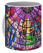 Mermaid Stained Glass Art  Coffee Mug