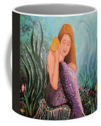 Mermaid Under The Sea Coffee Mug